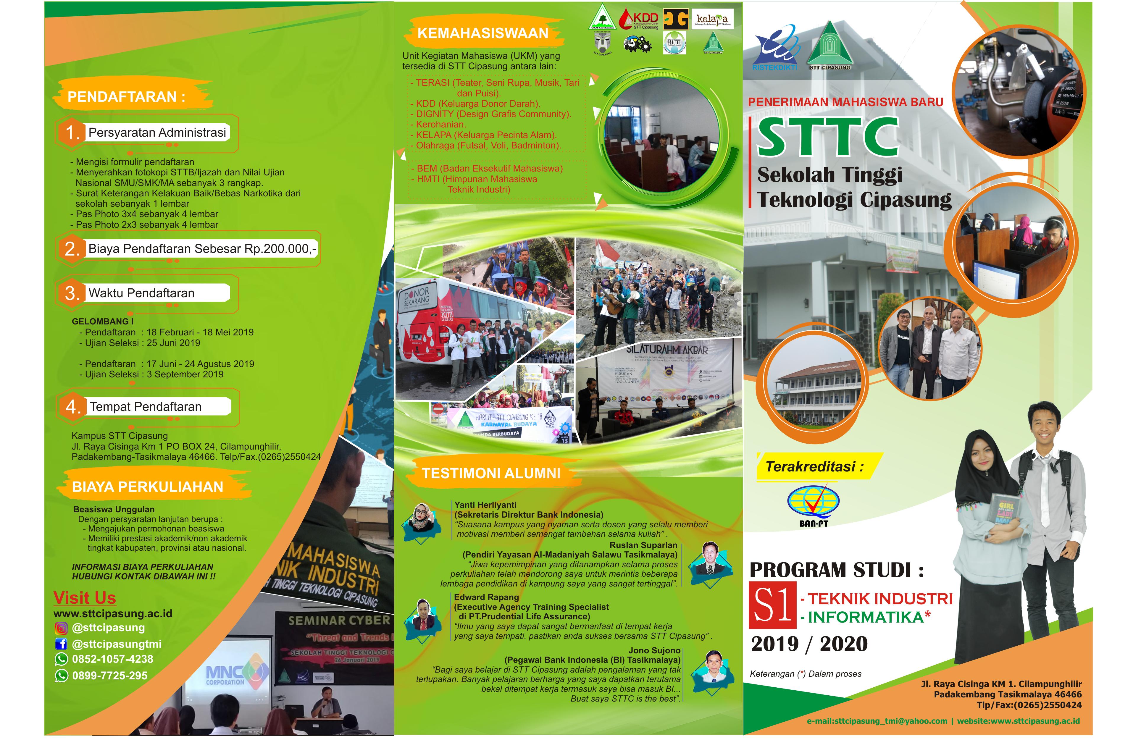 BROSUR STTC print